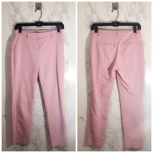 Pink Express Columnist Ankle work pants